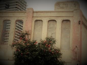 """Кинотеатр Эден. Открылся в 1914 году. Показывали """"Последний день Помпеи""""."""