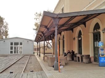 Старый вокзал в Яффо. Отсюда можно было отправиться в Иерусалим.